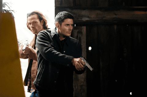 Supernatural escenas de los actores Jensen Ackles y Jared Padalecki
